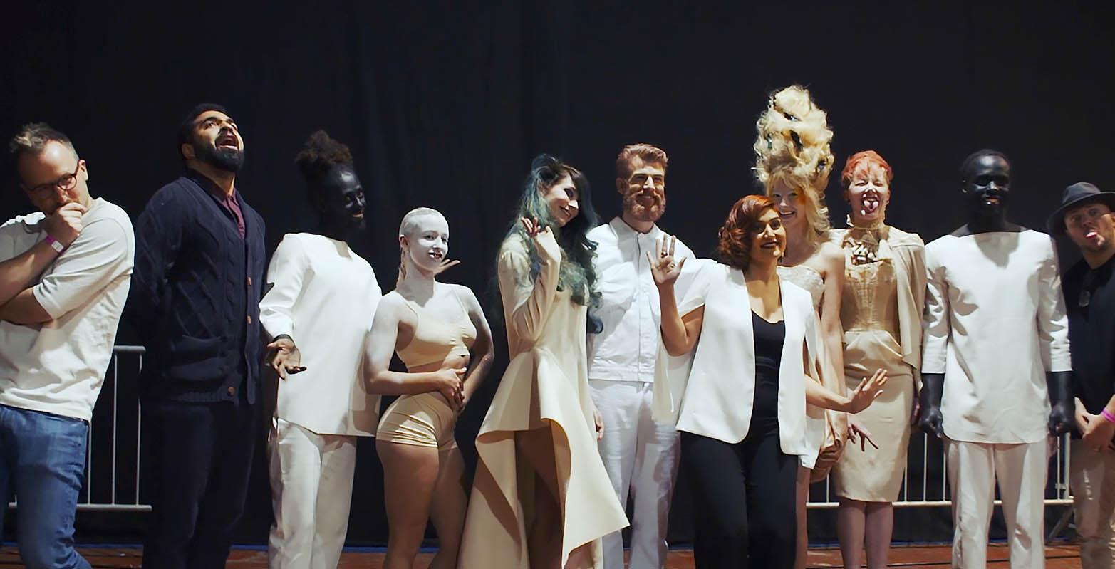 Team of Sevda Durukan promoted by JOYCO winner of the hair games , brussel filmed by Jason Berkley Studios Van Gogh Style