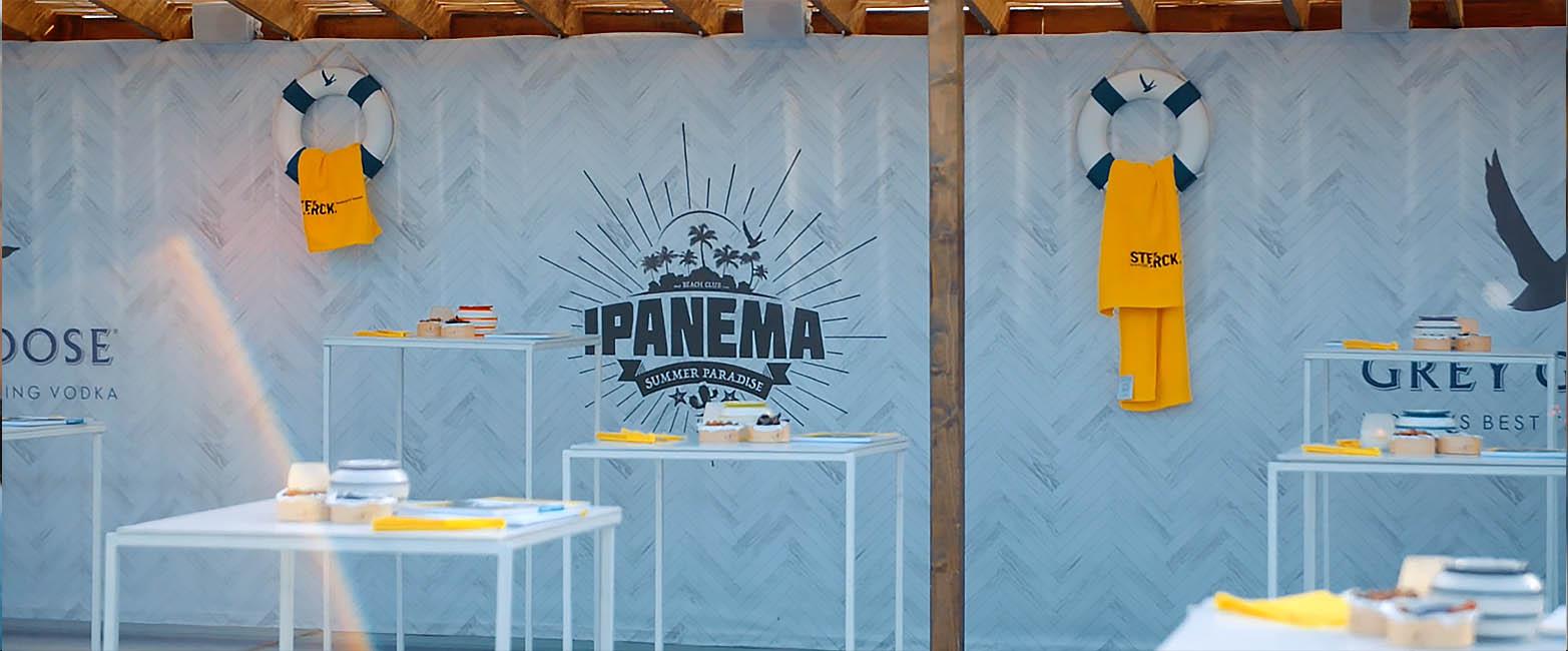 Ipanema Hasselt met Sterck Magazine en Jason Berkley Studios