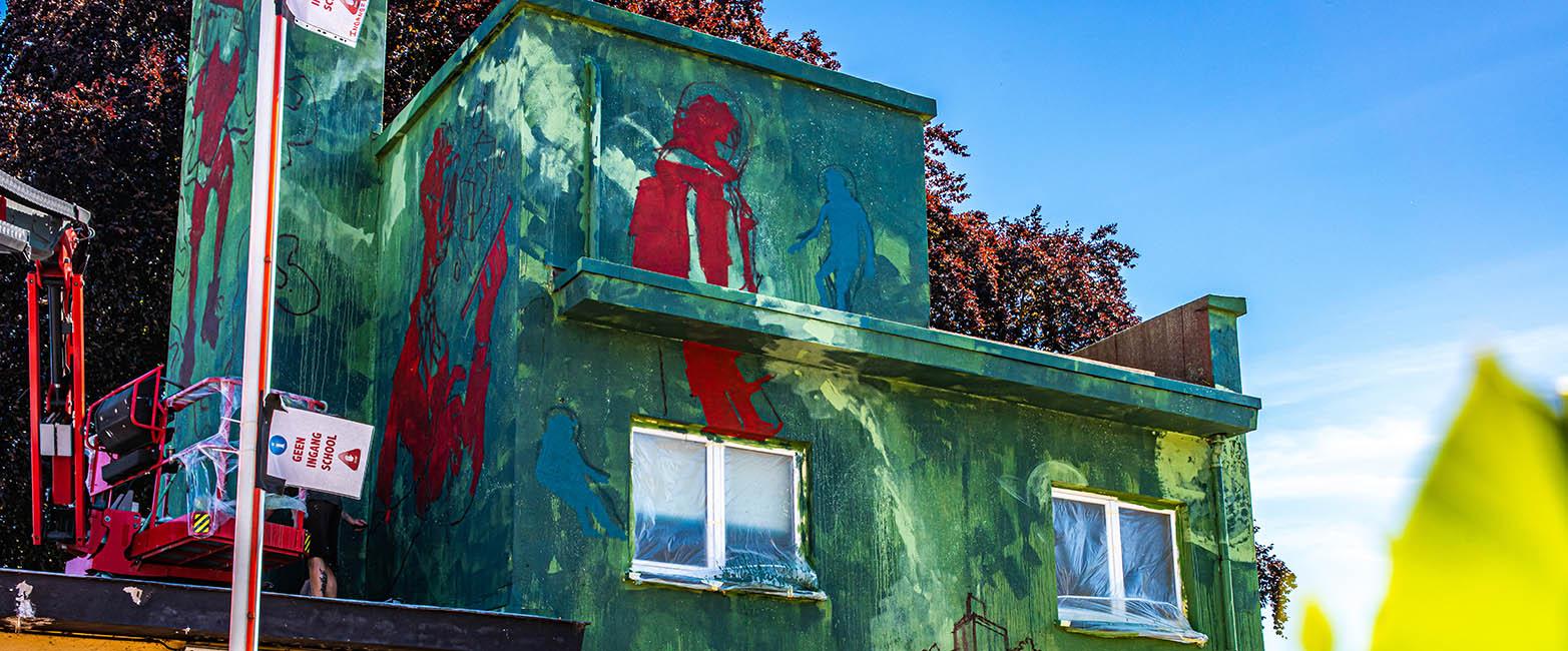 Artwork by Treepack voor De Nova in Leuven