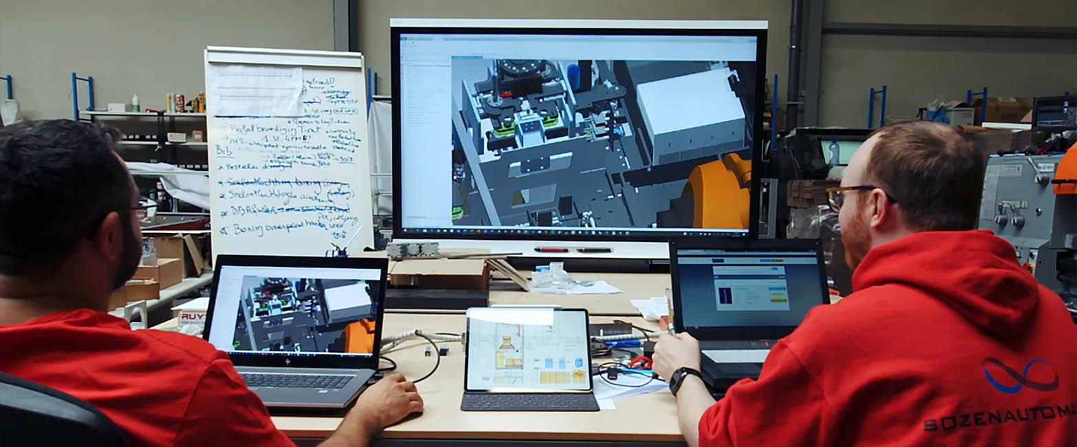 Sozen automation, in heusden zolder werkt internationaal aan ontwikellingen, branding video gemaakt door jason berkley studios